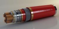 Ведущий оболочке и бронированных кабелей среднего напряжения